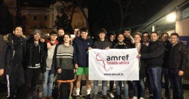 AMREF ROMA, LUISS LEP E RADIOLUISS IN CAMPO PER LE VITTIME DEL TERREMOTO!