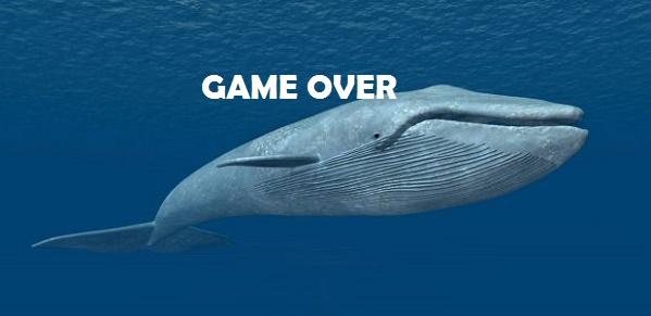 La balena che inghiotte